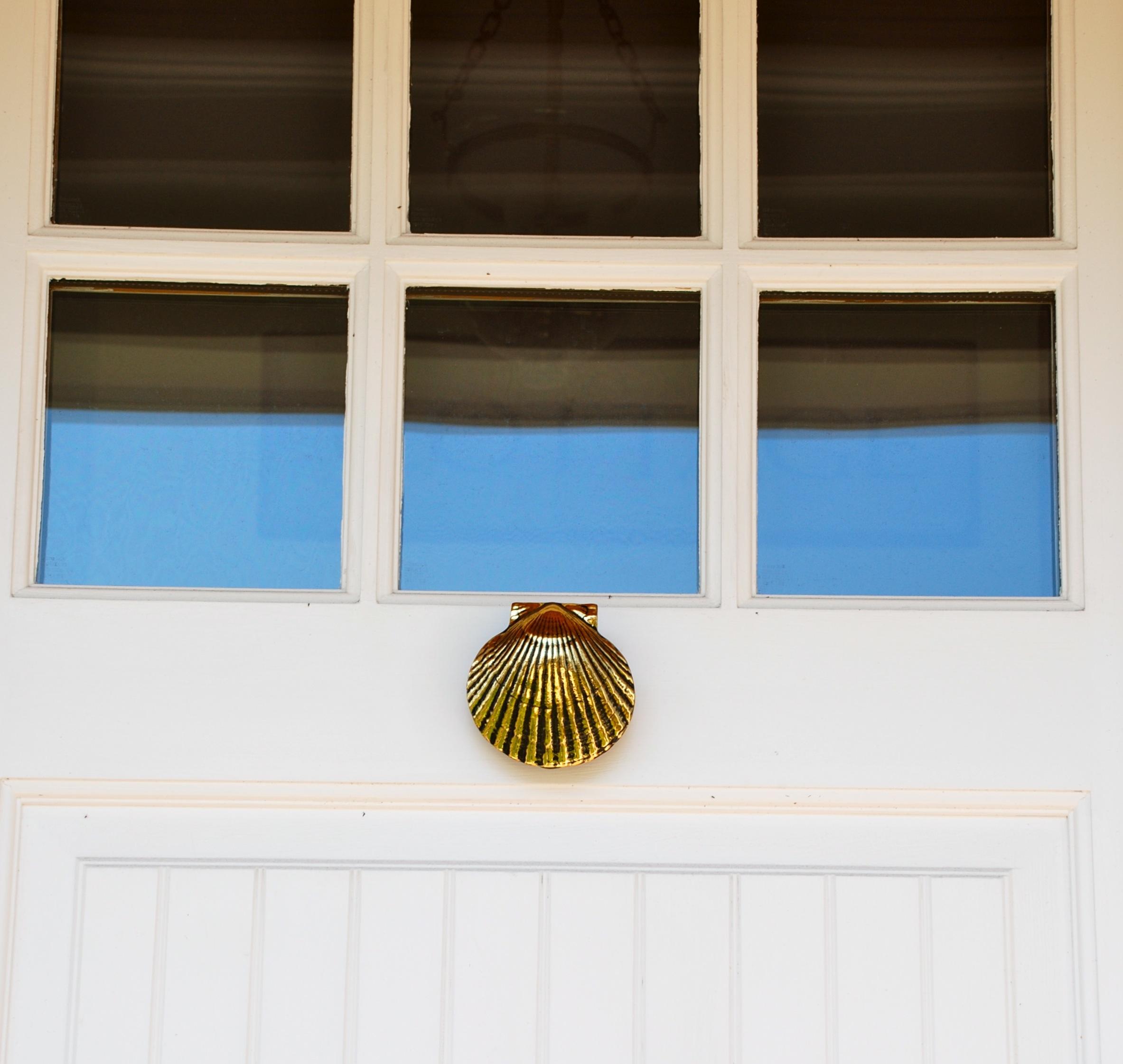 Door knockers saltwater living for Salt air resistant door hardware
